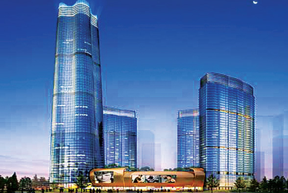 The project of Yiwu World Trade Center