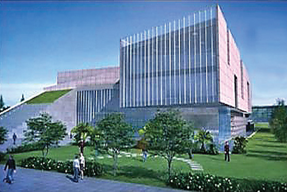 The project of Minhang Museum in Shanghai